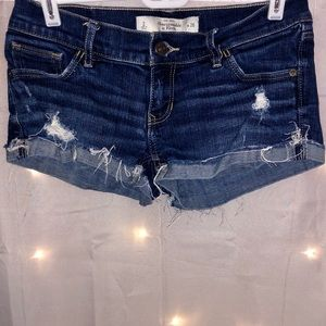 Abercrombie & Fitch Medium Wash Jean Shorts